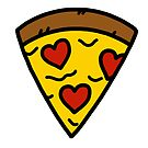Love pizza by Ben Cameron