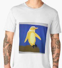 Comedy Custard Chinstrap Penguin Men's Premium T-Shirt