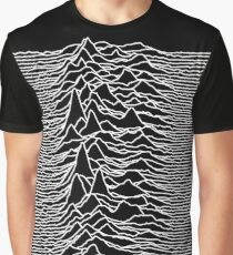 Joy Division - Unknown Pleasures Graphic T-Shirt