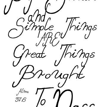 Alma 37:6 by ojab3