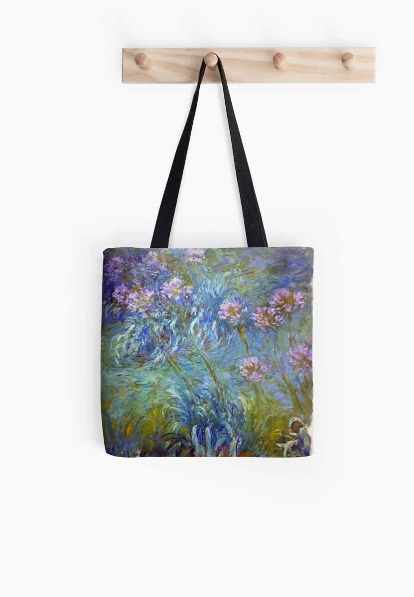 Agapanthus - Claude Monet  by NewNomads