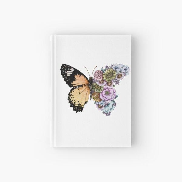 Butterfly in Bloom II Hardcover Journal