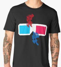 Science Fiction 3D Glasses Men's Premium T-Shirt