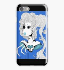 Blue Bust.  iPhone Case/Skin