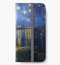 Starry Night Over the Rhone - Van Gogh iPhone Wallet/Case/Skin