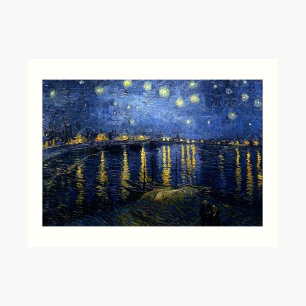 Starry Night Over the Rhone - Van Gogh Art Print