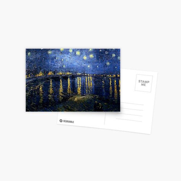 Starry Night Over the Rhone - Van Gogh Postcard