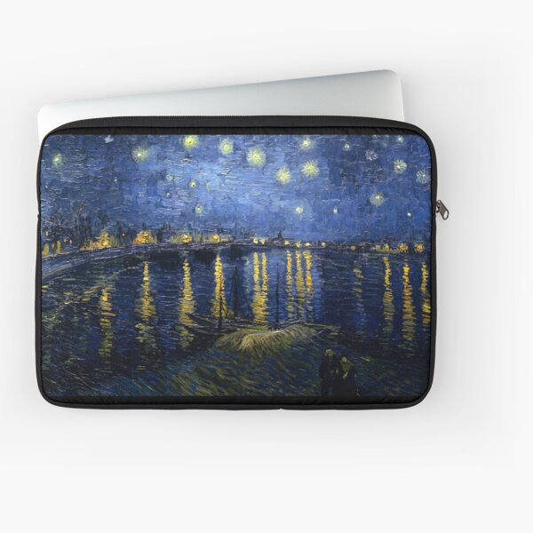 Starry Night Over the Rhone - Van Gogh Laptop Sleeve