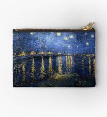 Starry Night Over the Rhone - Van Gogh Studio Pouch