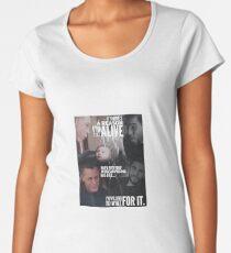 Fandoms - Chicago PD (Voight and Justin) Women's Premium T-Shirt