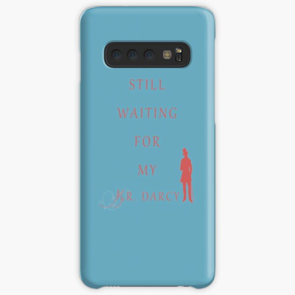 Waiting for My Darcy- Red Samsung Galaxy Snap Case