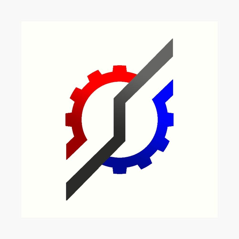 """Kamen Rider Build Logo"" Art Print By Transdorker"