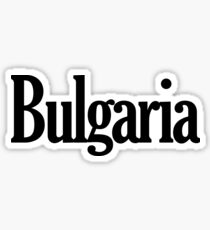 Bulgaria Sticker