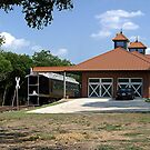 Train Depot Home by Glenna Walker