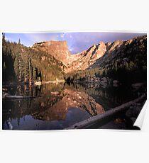 Dream Lake at Sunrise Poster