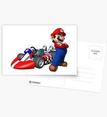 Mario Kart Postkarten