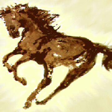 Running Wild Horse  by sharpie