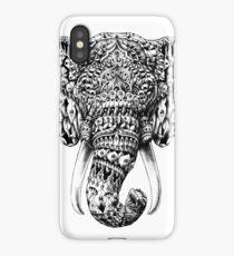 Ornate Elephant Head iPhone Case