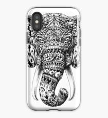 Verzierter Elefant Kopf iPhone-Hülle & Cover