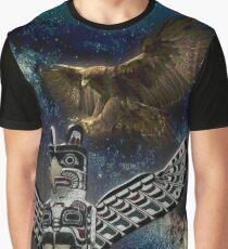 SPIRIT EAGLE Graphic T-Shirt