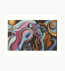 Mirror Spirit in the Wind Art Print