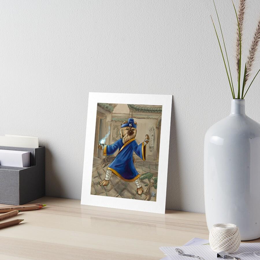 Tao Chow Art Board Print