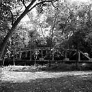Old Railroad Bridge by Glenna Walker
