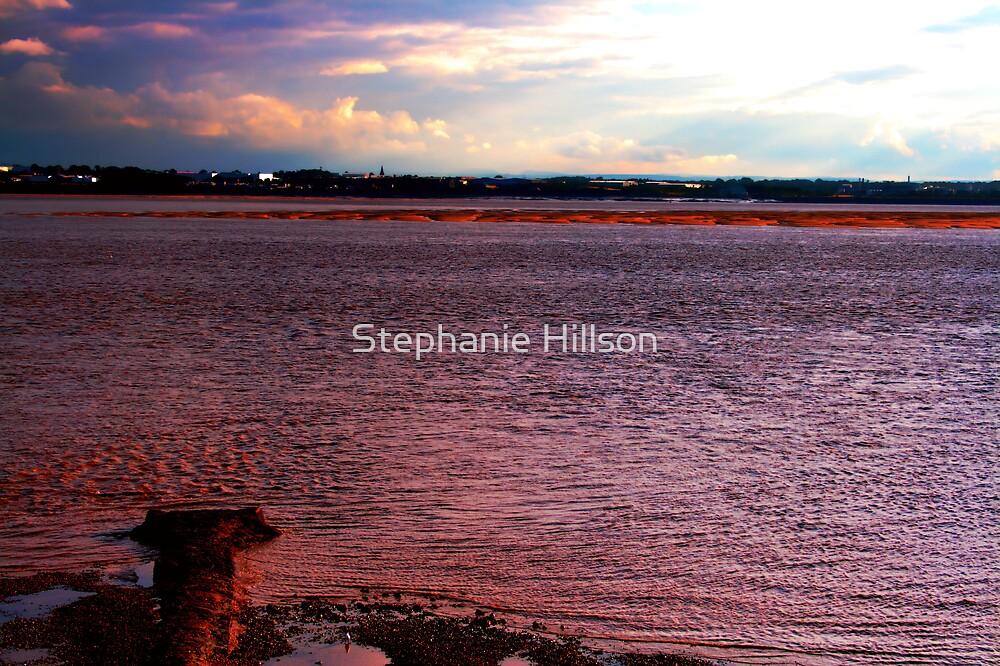 Pink Beach by Stephanie Hillson