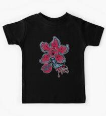 Schreiender Demogorgon Kinder T-Shirt