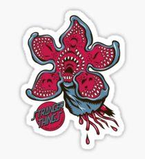 Screaming Demogorgon Sticker
