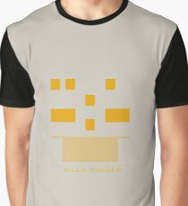 Abstract Print of Villa Müller by Adolf Loos Graphic T-Shirt