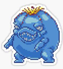 Blue Choya Sticker