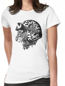 Tiger Helm Womens Fitted T-Shirt