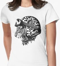 Tiger Helm Women's Fitted T-Shirt
