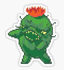 Green Choya Sticker