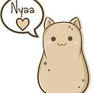 Potato Cat by devicatoutlet