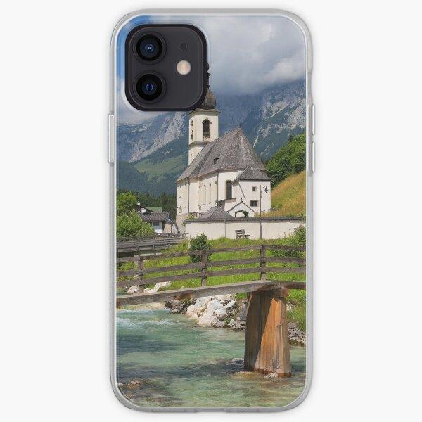 St. Sebastian Church, Ramsau Bei Berchtesgaden iPhone Soft Case