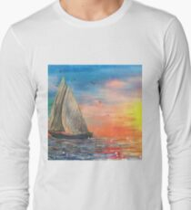 Come sail away with me Long Sleeve T-Shirt