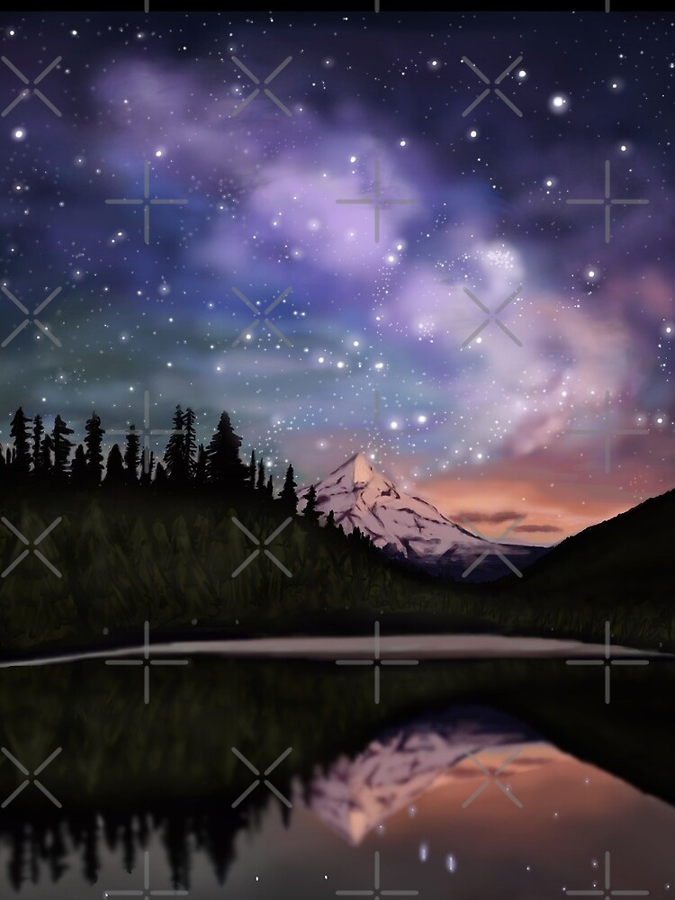 Alaskischer Himmel von triniarts