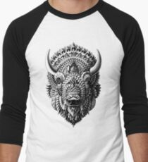 Bison Men's Baseball ¾ T-Shirt