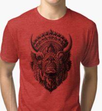 Camiseta de tejido mixto Bisonte