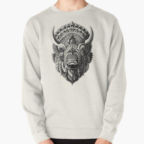 Bison Pullover Sweatshirt