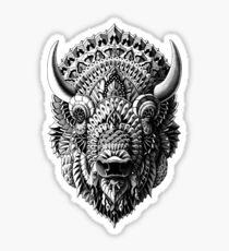 Bison Sticker