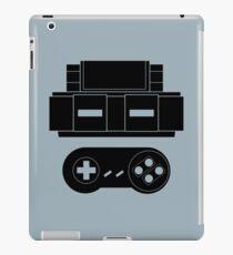 Let's Play SNES (Black) iPad Case/Skin