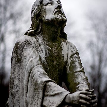 Jesus Looking to the Father by christiansheehy