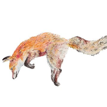 Pouncing Red Fox by frespirit