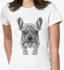 Frenchie (French Bulldog) Women's Fitted T-Shirt