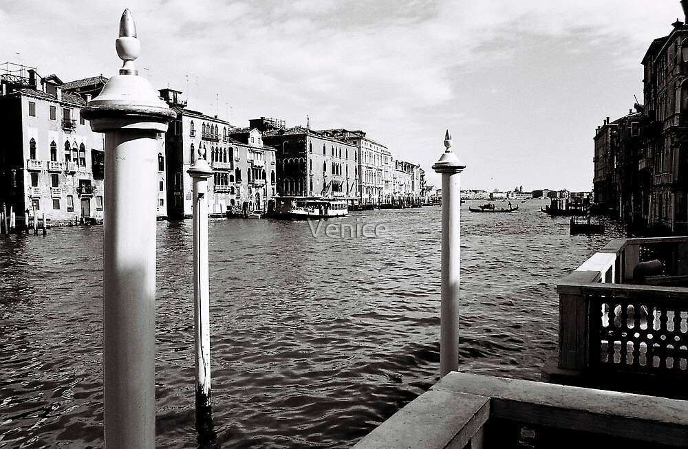 Grand Canal mornings 2 by Venice