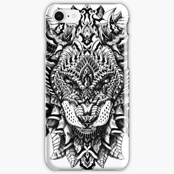 Ornate Lion iPhone Snap Case