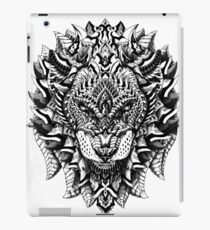 Ornate Lion iPad Case/Skin